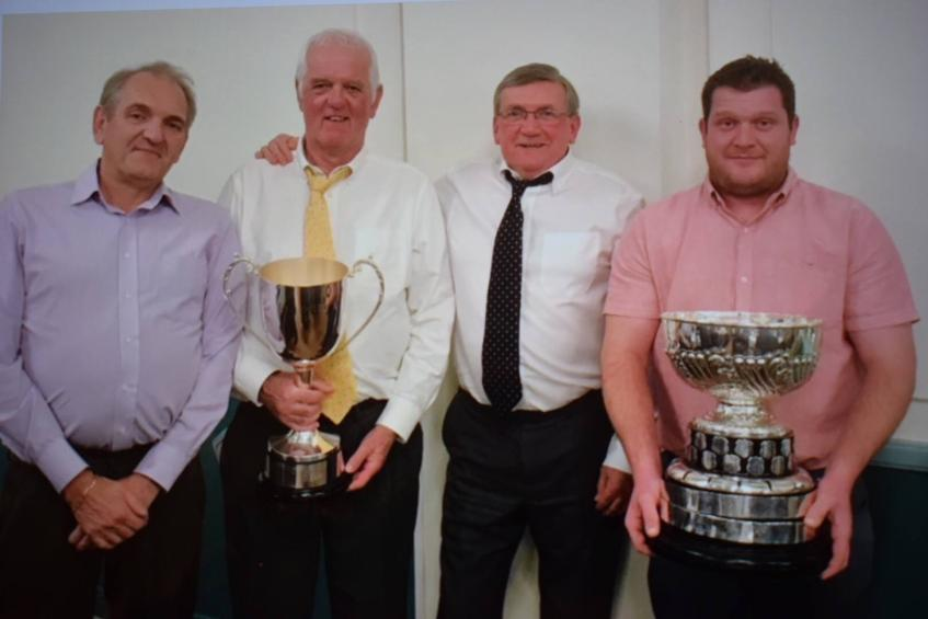 Well done Blaby lads two trophy's for the clubhouse cabinet at the County dinner and presentation.